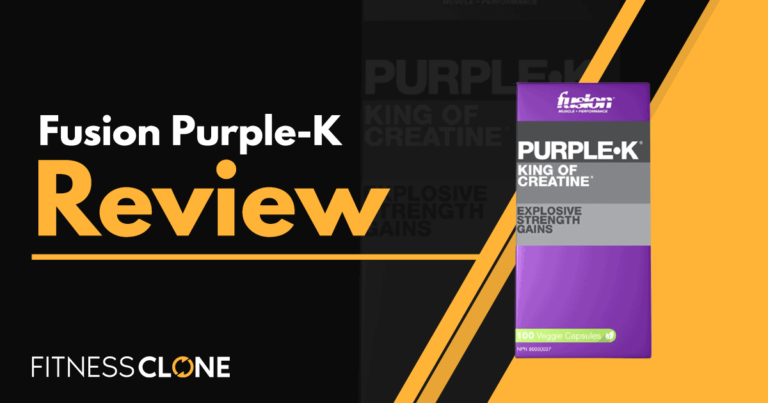 Fusion Purple-K Review – Can It Really Help You Gain Muscle Mass?